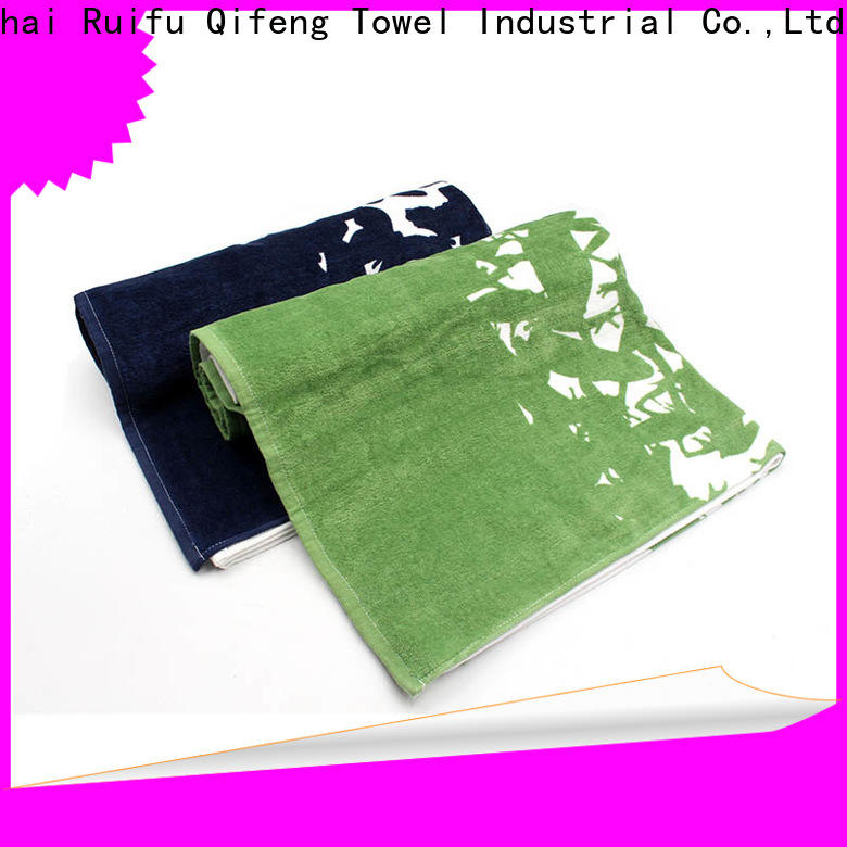 Ruifu Qifeng good quality shower towel supplier for restaurant